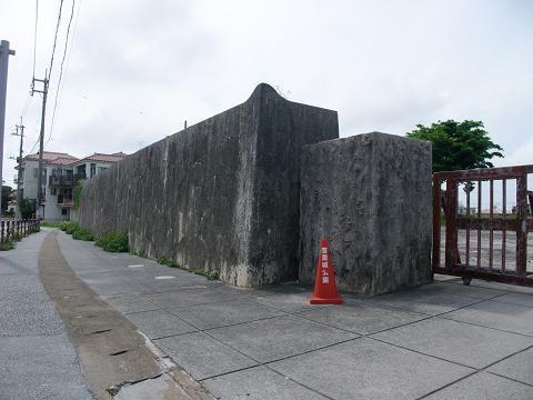 沖縄県立博物館跡 石垣