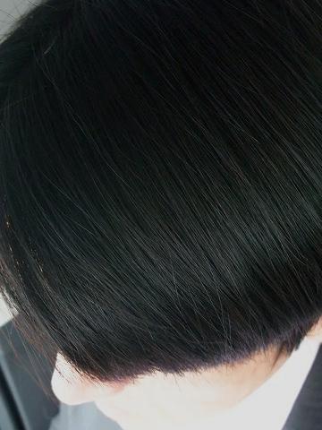 よ~しぃの髪の毛