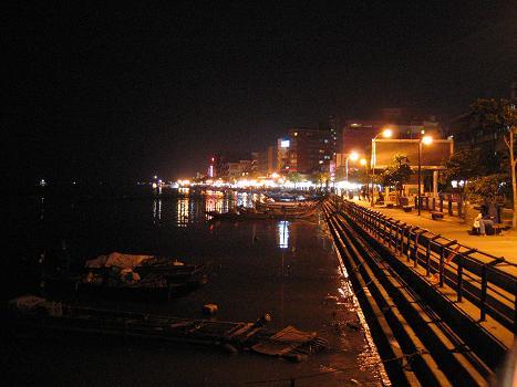 淡水の海岸線 (台湾 - 台北)