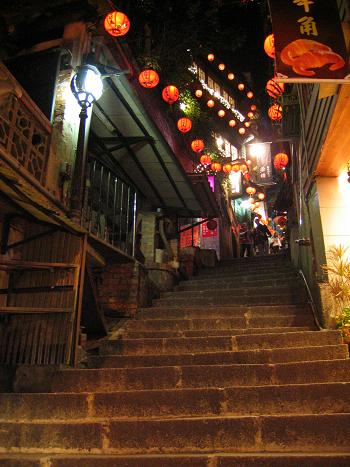 九#20221; 上り 夜 (台湾 - 台北)
