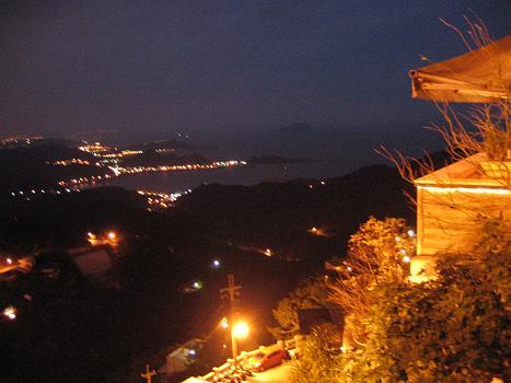 九#20221;からの夜景 (台湾 - 台北)