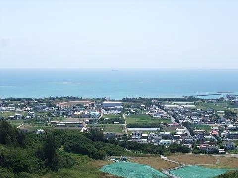 中城村の海
