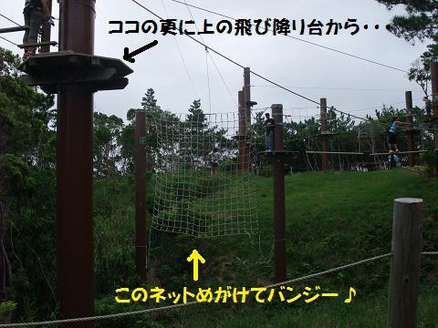 FOREST ADVENTURE (フォレストアドベンチャー IN 恩納) TARZAN SWING 1