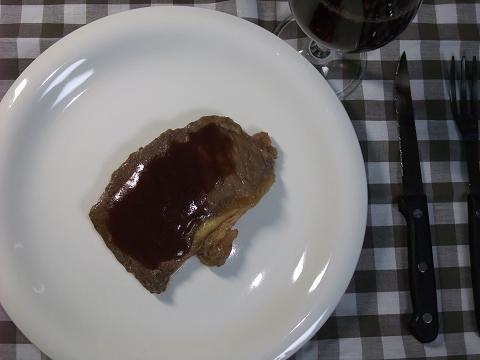 A1 Sauce (エーワンソース) ステーキ