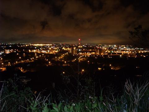 ライカムから見る北谷の夜景
