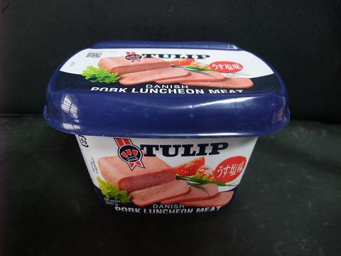 TULIP (チューリップ) ポークランチョンミート プラスチック容器 2