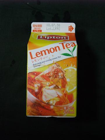 沖縄森永乳業(株) Lipton レモンティー 473ml 箱