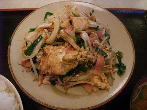 豆腐チャンプルー (まんじゅまい)