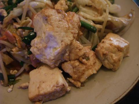 豆腐チャンプルー (島豆腐)