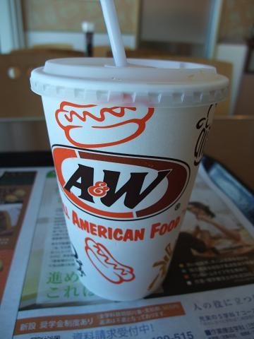 A&W オレンジジュース