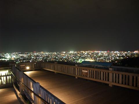 首里城公園展望台からの夜景 1