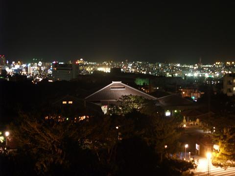 首里城公園展望台からの夜景 2