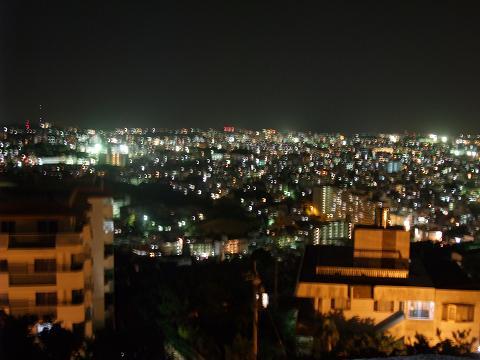 首里城公園展望台からの夜景 3
