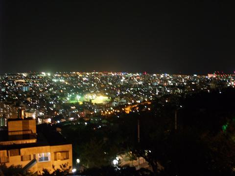首里城公園展望台からの夜景 4