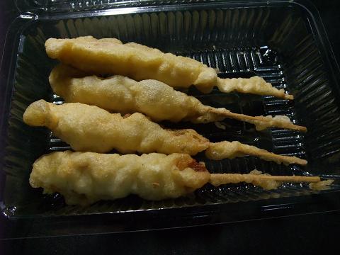 タウンプラザかねひで 豚串天ぷら