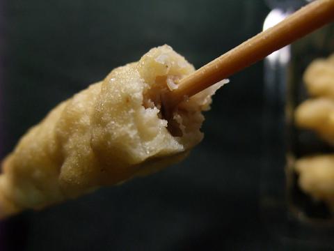 タウンプラザかねひで 豚串天ぷら アップ
