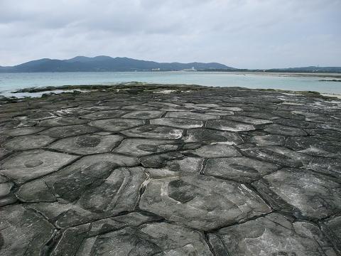 奥武島の畳石 (久米島) 3