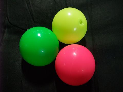 プーカーボール (ゴムボール) 3色