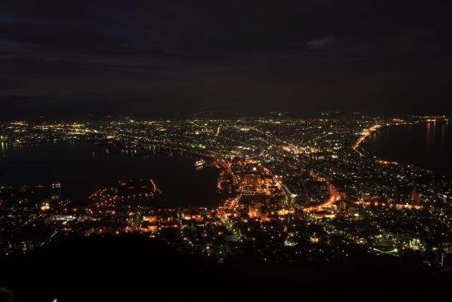 函館山より夜景
