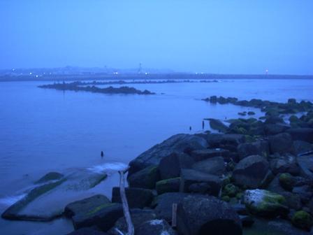 2009年7月18日那珂川河口1