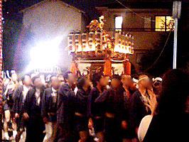 熊野神社のお神輿(青葉公園)