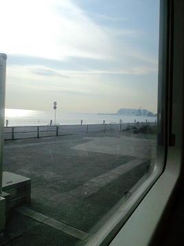 江ノ電からの海