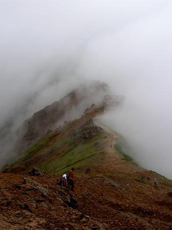 八ヶ岳と乗鞍 046