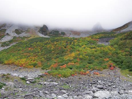 秋の涸沢 1 032