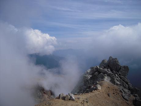 秋の焼岳 022