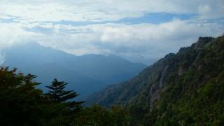 石鎚山脈2