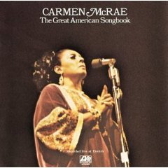 CARMEN MCRAE「THE GREAT AMERICAN SONGBOOK」