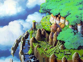 ラピュタの景色