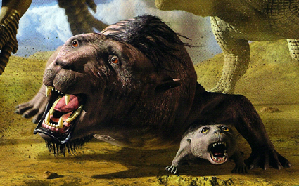 地球最古の恐竜展