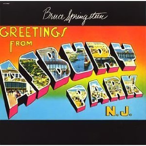 BRUCE SPRINGSTEEN「GREETINGS FROM ASBURY PARK, N.J.」