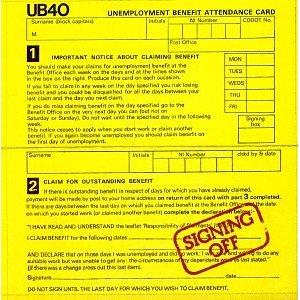 UB40「SIGNING OFF」