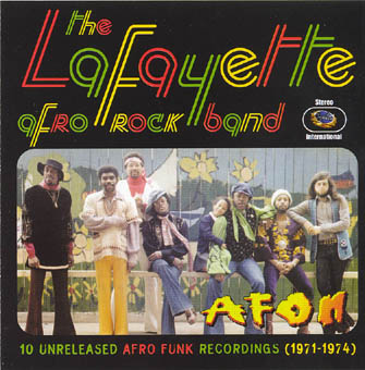THE LAFAYETTE AFRO ROCK BAND : AFON