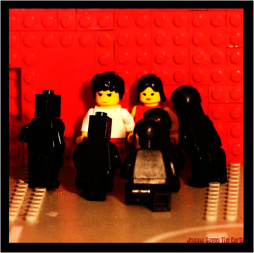レゴでWHITESTRIPES