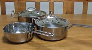 ステンレス製鍋