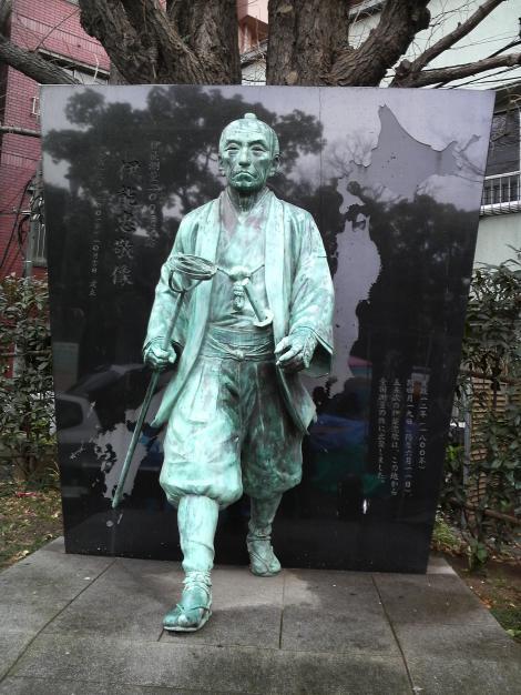 伊能忠敬銅像