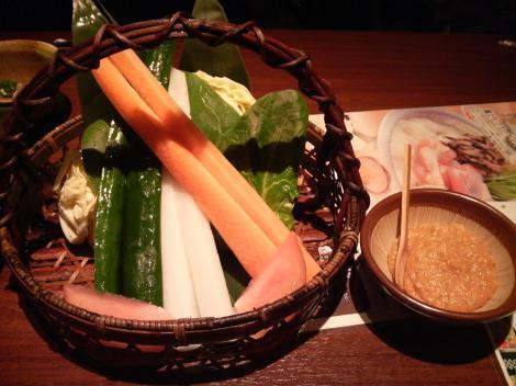 野菜のざる盛り