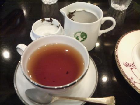 オーガニックの紅茶