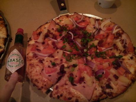 小さいピザ