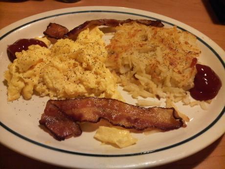朝食も兼ねる
