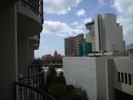 ラナイからの眺め