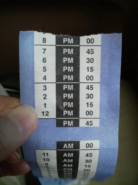 トランスファーチケット