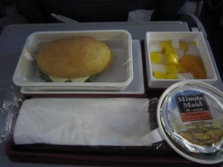 チャイナの機内食ー2