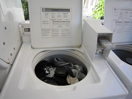洗濯ものを入れます