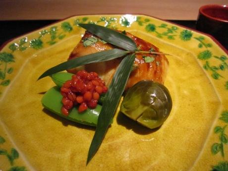 目鯛の山椒焼き