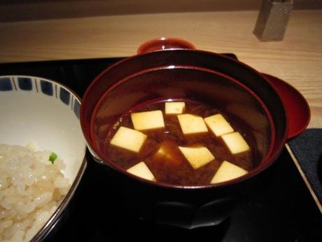 お豆腐の味噌汁