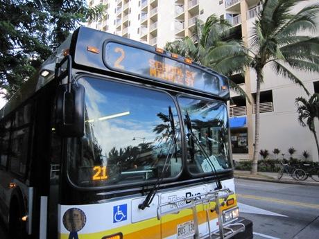バスに乗って